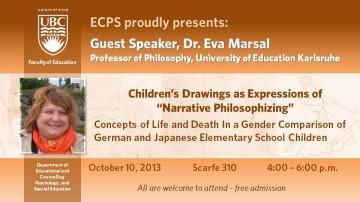Guest Philosophy Speaker: Dr. Eva Marsal