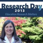 """Making Research Mutually Beneficial"" – A keynote lecture by Shelley Hymel at Research Day"