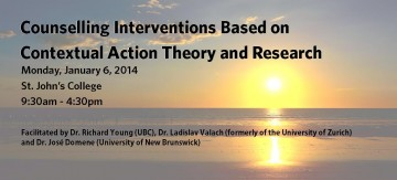 Counselling Interventions Based on Contextual Action Theory and Research