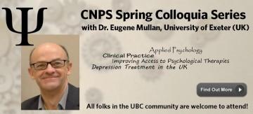 CNPS Spring Colloquium Series with Dr. Eugene Mullan