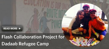 Youth Summer Camp Project Reaches Refugee Camp