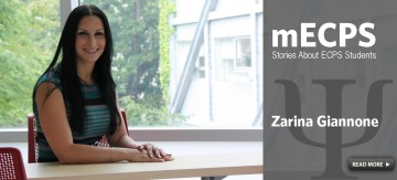 mECPS Spotlight on Zarina Giannone