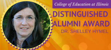 Distinguished Alumni Award Winner, Shelley Hymel
