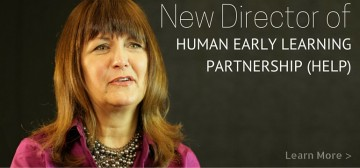 Dr. Kimberly Schonert-Reichl New Director of HELP