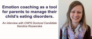 Interview with CNPS Doctoral Candidate, Karolina Rozworska